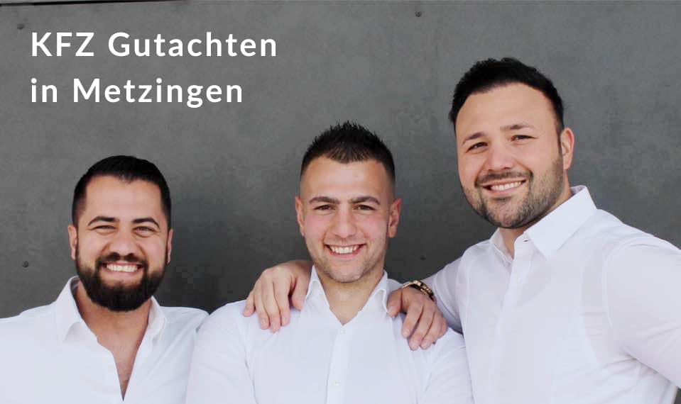 KFZ Gutachter in Metzingen für die Gebiete Unfallgutachten, Schadengutachten & Wertgutachten