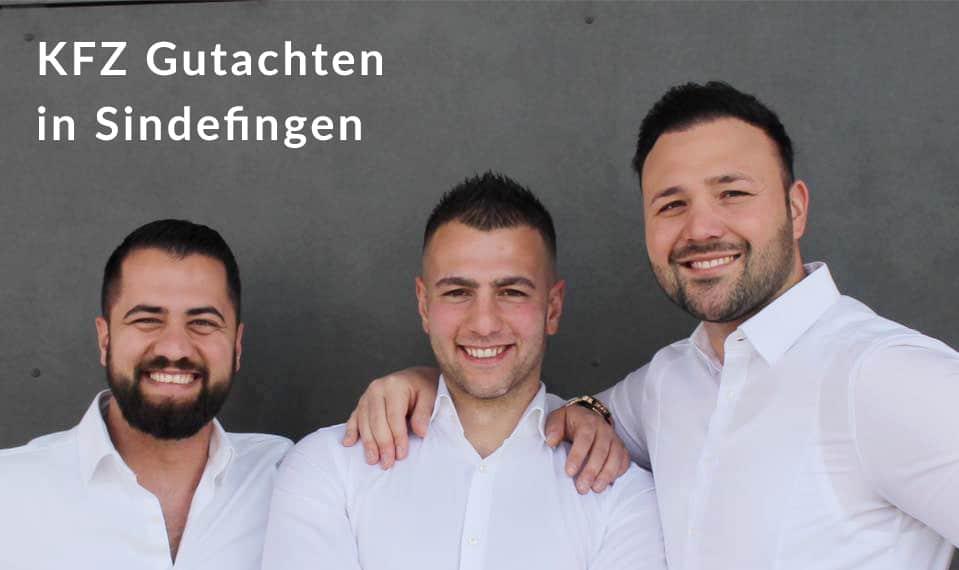 KFZ Gutachter in Sindelfingen für Unfallgutachten, Wertgutachten und Unfallgutachten