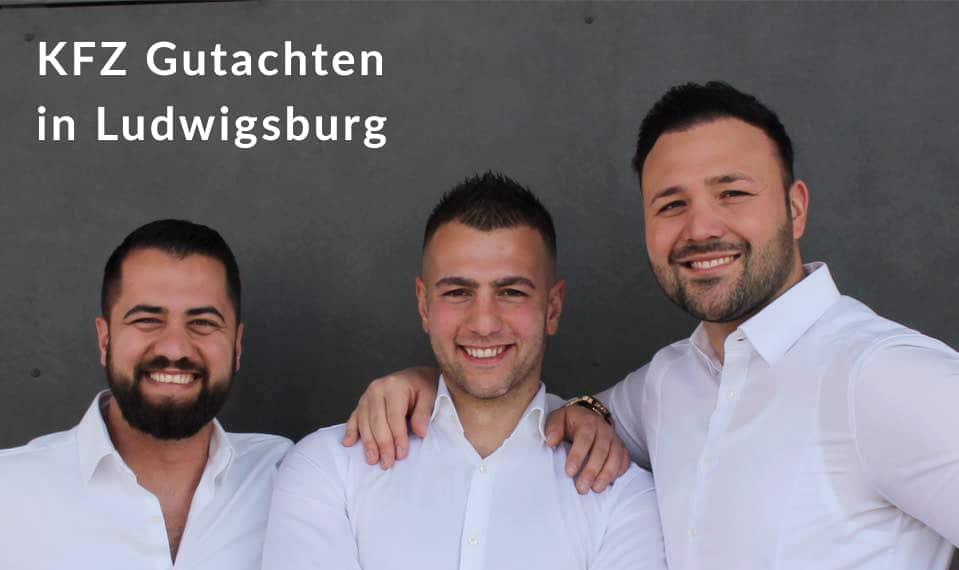 Ludwigsburg KFZ Gutachten Gruppenbild Unfallgutachten Schadengutachten Wertgutachten